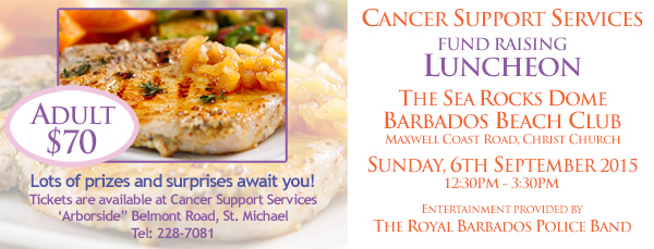 Cancer Support Services Fundraising Lunch 2015