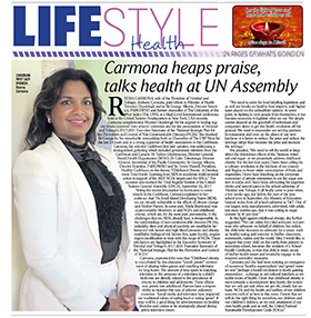 In a recent article in the Trinidad Daily Express, Reema Carmona