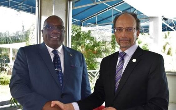 CARPHA Director Praises PM Harris' Intervention on Regional Health Matters