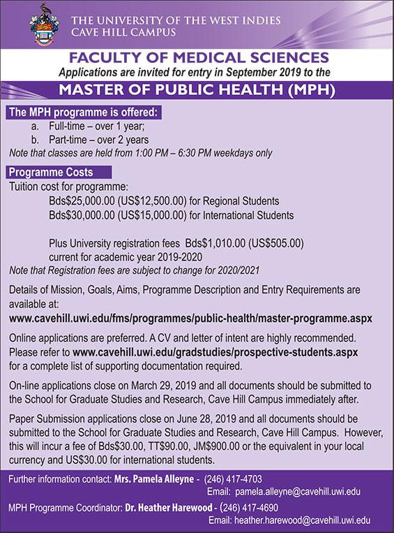 Master of Public Health (MPH)