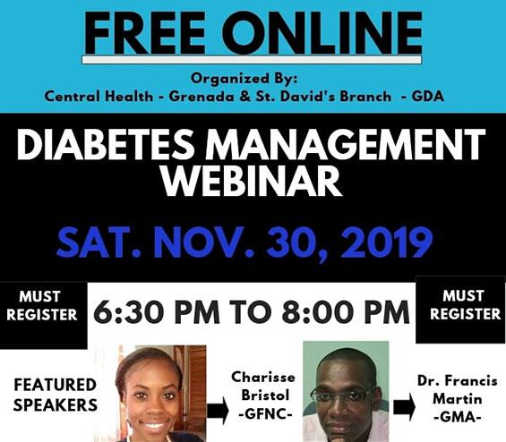 Free Diabetes Management Webinar