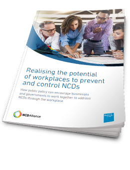 Realising the potential of workplaces to prevent and control NCDs