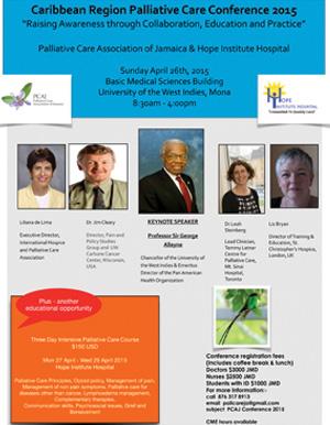 Caribbean Palliative Care Conference 2015