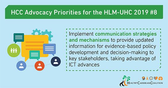 HCC's UHC advocacy priorities #8