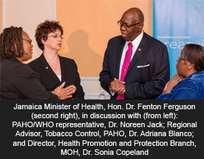 JAMAICA MOH undertaking impact study of tobacco control