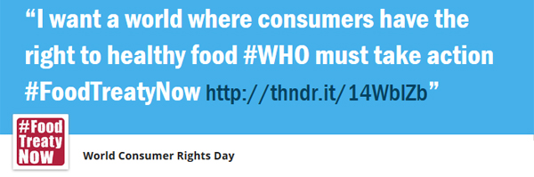 Join the WCRD 2015 'Thunderclap'