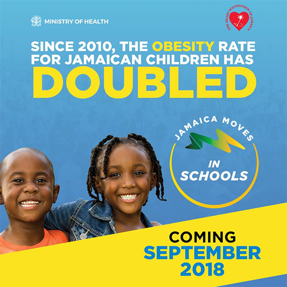 'Jamaica Moves' to be Introduced in High Schools