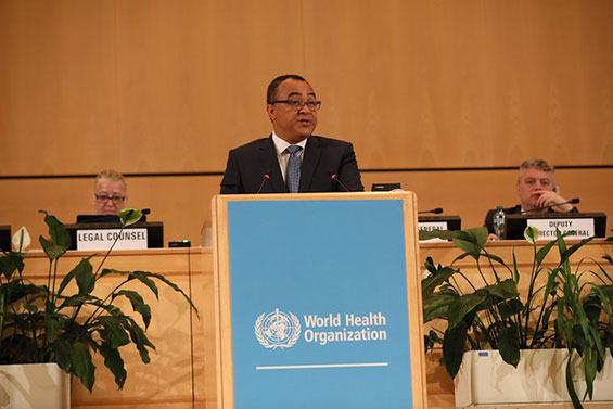 Jamaica Minister of Health and Wellness, Dr. the Hon. Christopher Tufton
