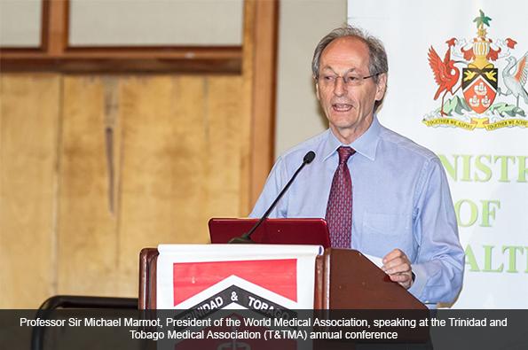 Professor Sir Michael Marmot, President of the World Medical Association