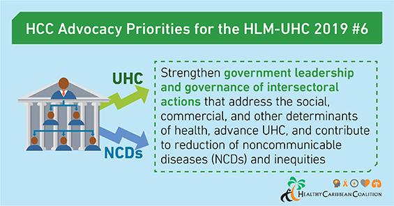 HCC's UHC advocacy priorities #6