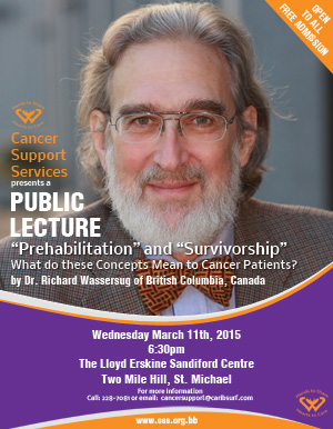 Cancer Support Services Public Lecture