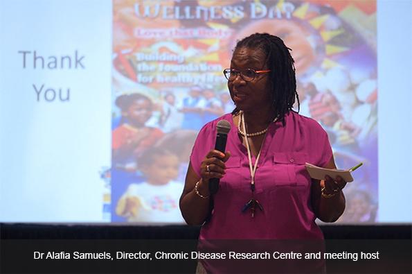 Dr Alafia Samuels, Director, Chronic Disease Research Centre
