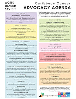 The HCC Caribbean Cancer Alliance Advocacy Agenda