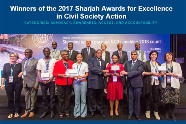 NCD Organisations Praised in Sharjah
