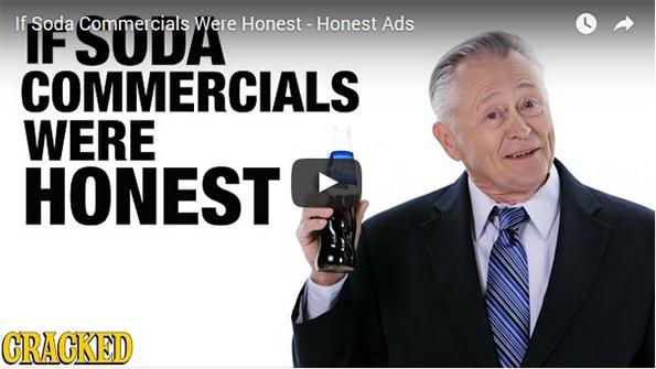 An Honest Soda Commercial!