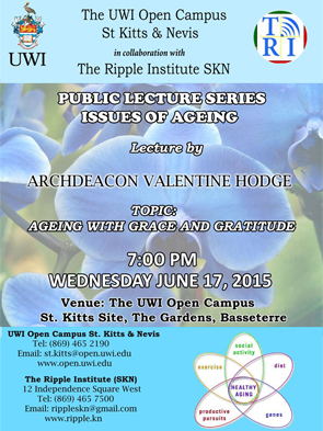 Public Lecture Series Issues of Ageing