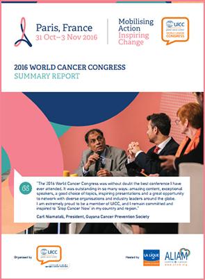 2016 World Cancer Congress Summary Report