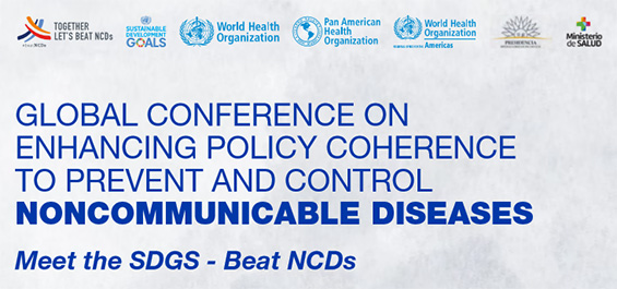 WHO Global Conference on Noncommunicable Diseases