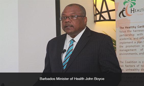 Barbados MOH John Boyce