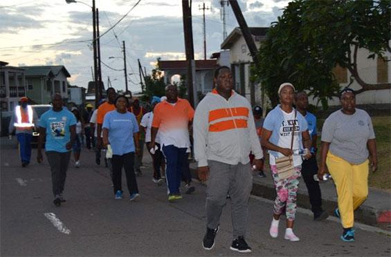 St Kitts Walk