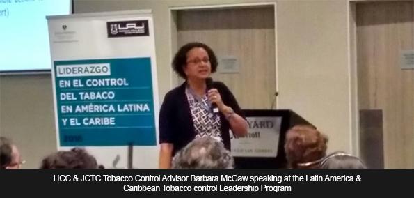 HCC & JCTC Tobacco Control Advisor Barbara McGaw