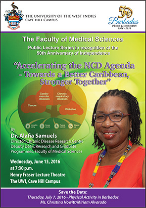 Dr. Alafia Samuels, Director, Chronic Disease Research Centre