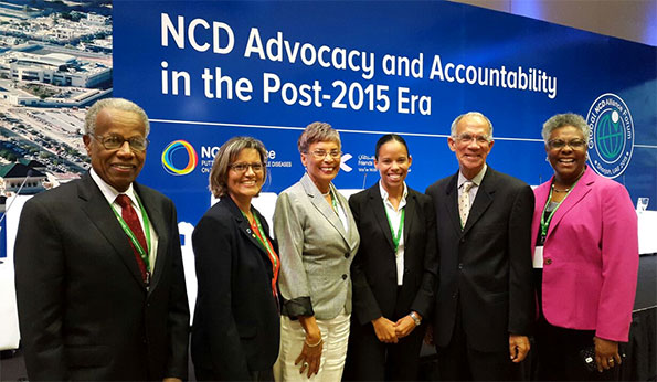 Caribbean Representation at the Global NCD Alliance Forum in Sharjah 2015