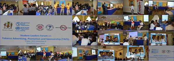 Student Leaders Forum on Tobacco Advertising Promotion and Sponsorship (TAPS)
