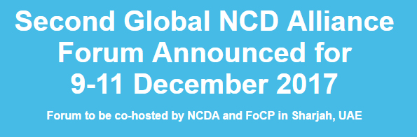 Second Global NCD Alliance Forum