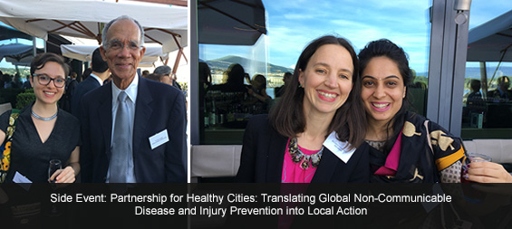 Images from the Partnership for HealthyCities