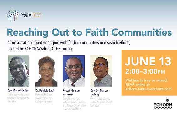 Webinar - Reaching Out to Faith Communities