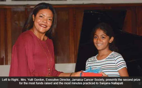 Music Students Give Back to the Jamaica Cancer Society