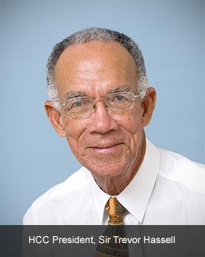 Sir Trevor Hassell HCC President