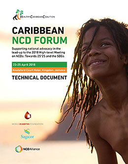 The Caribbean NCD Forum – Technical Document