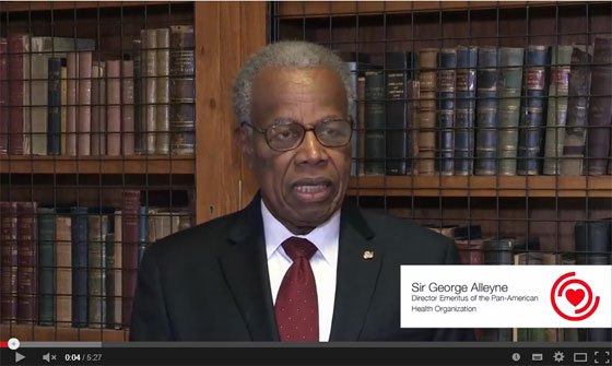 Sir George Alleyne, HCC Patron, Talks Secondary Prevention and the role of Civil Society