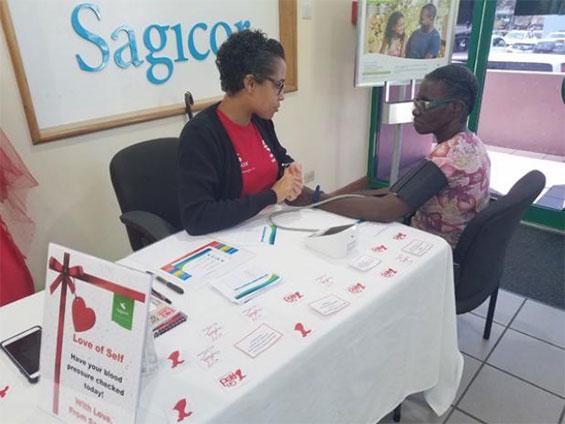 Wellness Nurse for Sagicor Life Inc