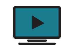 next steps video icon