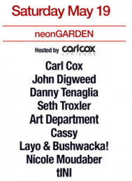 CARL COX AND FRIENDS EDC NYC MAY 19