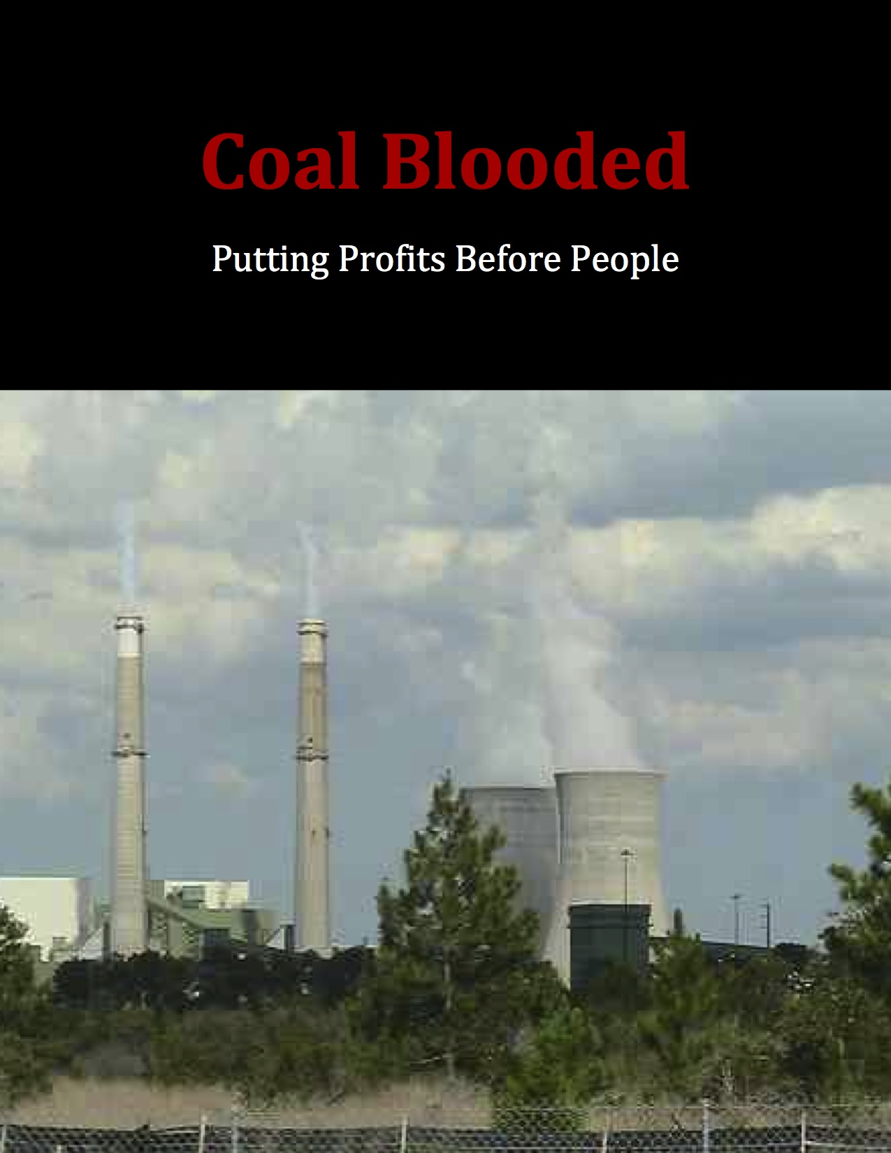 Coal Blooded Report Cover