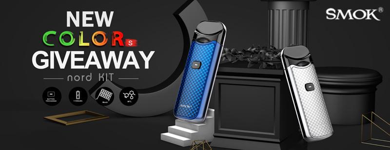 SMOK NORD 1100mAh KIT Pod Giveaway - Efun.top