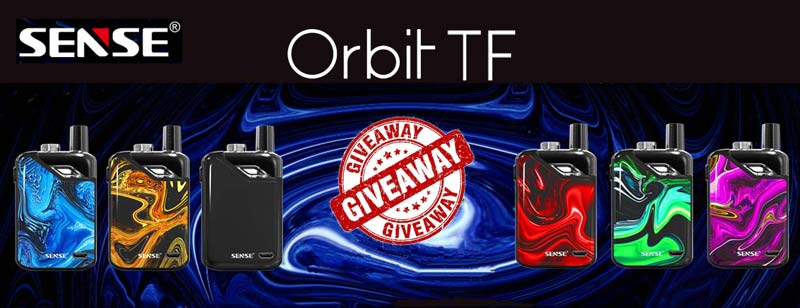 Giveaway Sense Orbit TF Pod System 1100mAh
