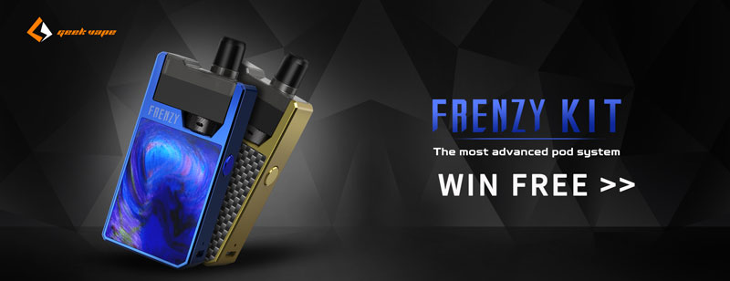 Geekvape Frenzy Kit Giveaway