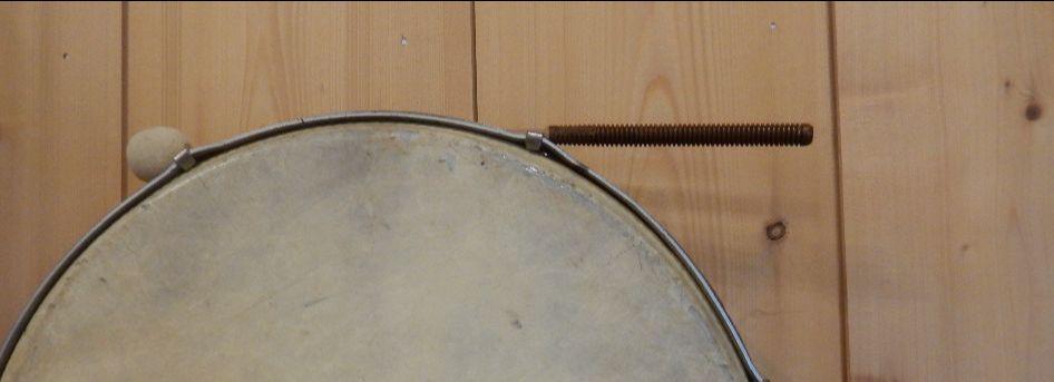 Illustration - tambourin pour le rythme