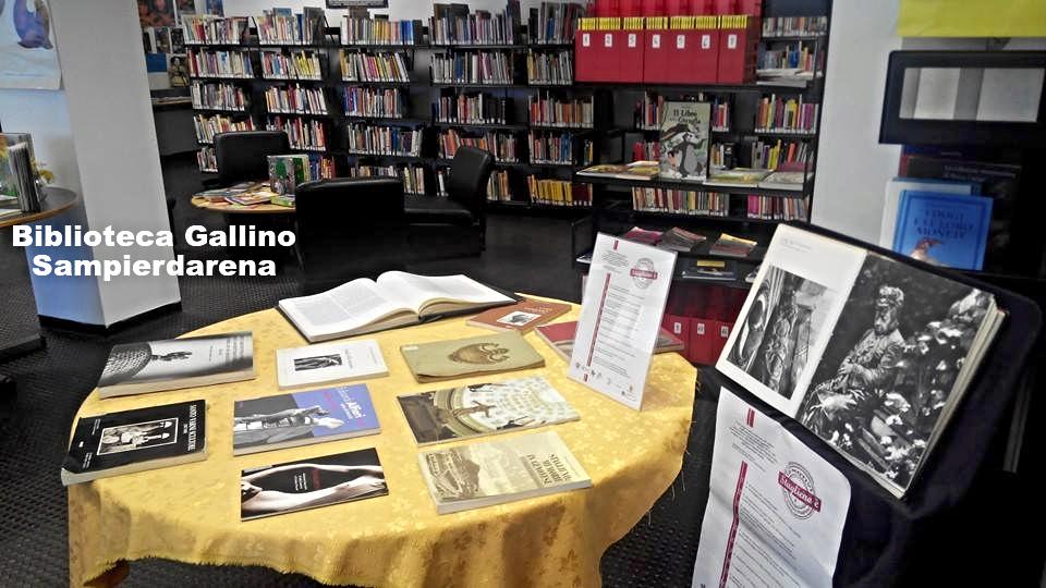 Mostra bibliografica su ImmortalArte a Staglieno alla Gallino di Sampierdarena
