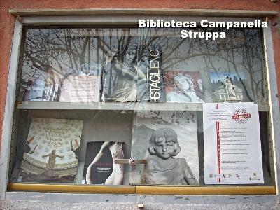 Mostra bibliografica su ImmortalArte a Staglieno alla Campanella di Struppa