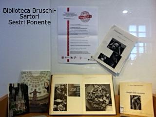 Mostra bibliografica su ImmortalArte a Staglieno alla Bruschi-Sartori di Sestri Ponente