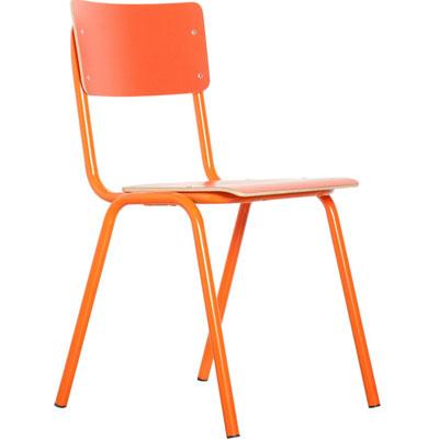 Stoel Back to school oranje Zuiver