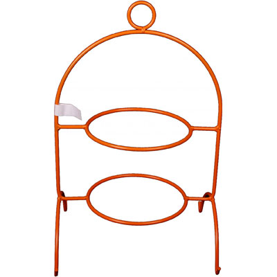 Etagere 2-laags oranje Kitchen Trend