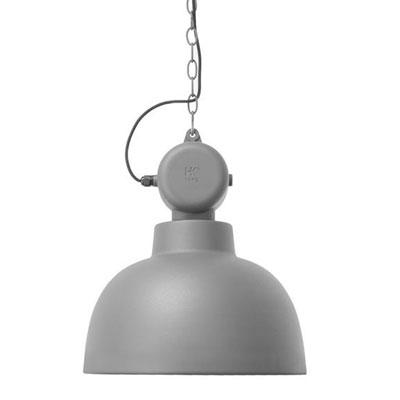 Hanglamp Factory grijs mat HK Living