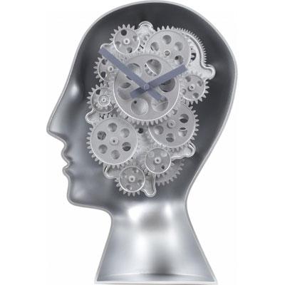 Tafelklok Robot Brains Invotis